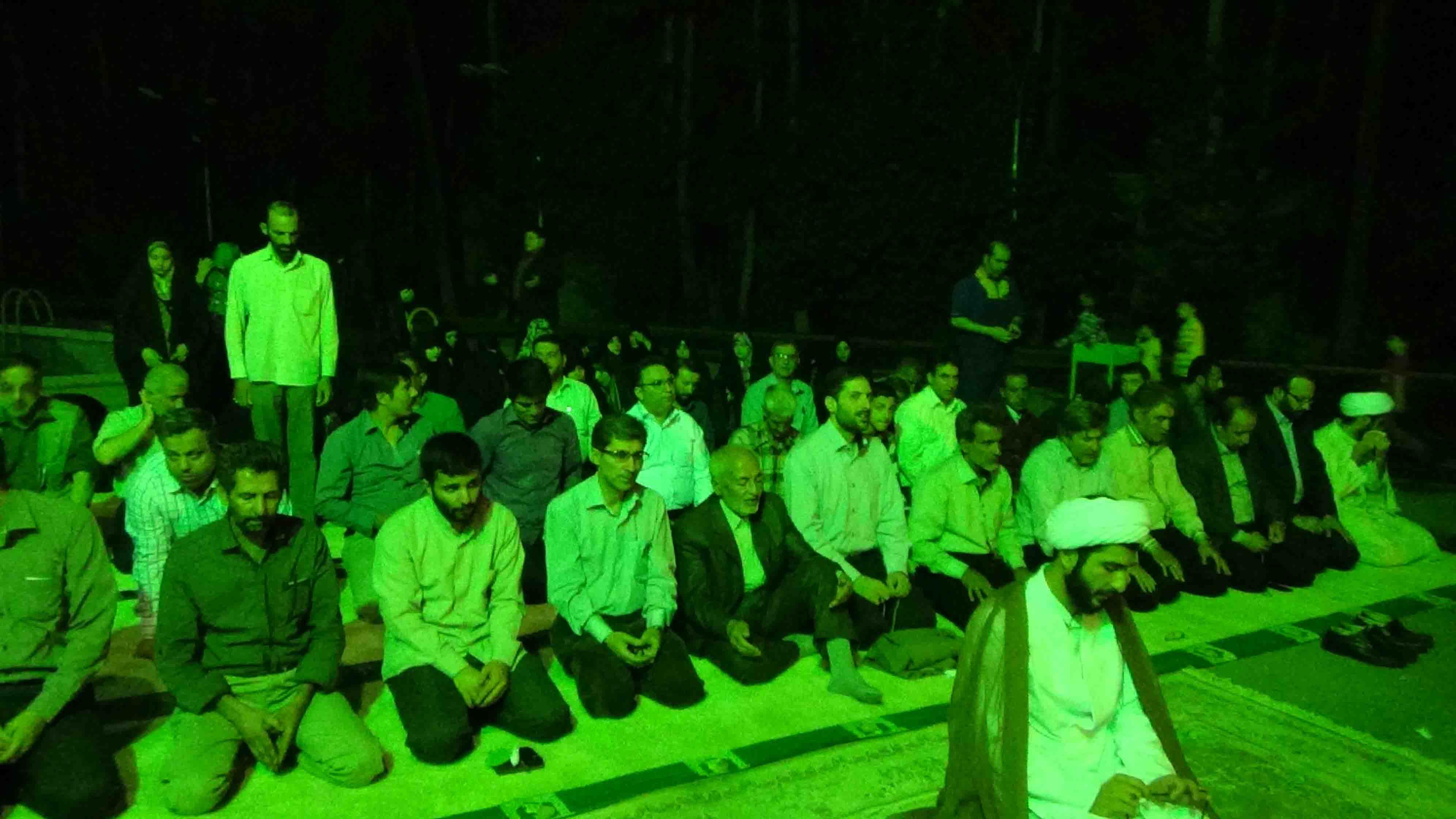 مراسم افطاری موسسه فرهنگی اندیشه وتدبیر انقلاب اسلامی/ 9 تیر 94