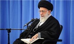 حضرت آیتالله خامنهای رهبر معظم انقلاب اسلامی صبح امروز (سهشنبه) در ابتدای جلسه درس خارج فقه