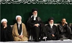 با حضور رهبر معظم انقلاب و در حسینیه امام خمینی(ره)