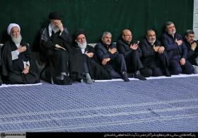 مراسم عزاداری شام غریبان حضرت اباعبدالله الحسین (علیهالسلام) در حسینیه امام خمینی