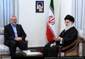 نامه اسماعیل هنیه رئیس دفتر سیاسی جنبش مقاومت اسلامی فلسطین به رهبر انقلاب اسلامی