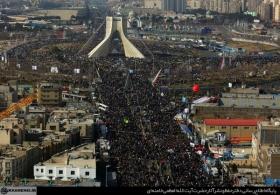 پیام درپی حماسه ملت در راهپیمایی ۲۲ بهمن