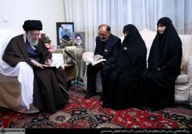 حضور در منزل شهید محمدعلی بایرامی از شهدای ناجا