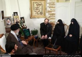 حضور در منزل شهید محمدحسین حدادیان