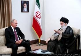 آنچه رهبر انقلاب در دیدار پوتین گفتند