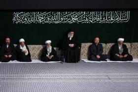 دومین شب مراسم عزاداری حضرت فاطمه زهرا (سلاماللهعلیها) در حسینیه امام خمینی
