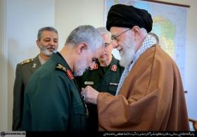 بیانات در مراسم اعطای نشان عالی ذوالفقار به فرمانده نیروی قدس سپاه پاسداران
