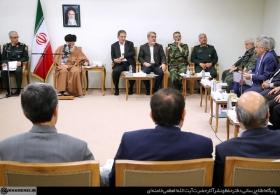 جلسه ویژه بررسی اقدامات و امدادرسانیها به استانهای سیلزدهی کشور در حضور رهبر انقلاب