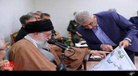 ماجرای گزارش وزیر نیرو به رهبرانقلاب از رصد وضعیت سدهای خوزستان
