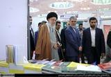 بازدید از سی و دومین نمایشگاه بینالمللی کتاب تهران