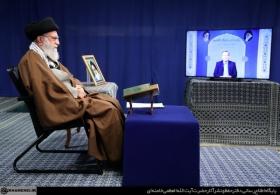 سخنرانی تلویزیونی در پایان محفل انس با قرآن کریم
